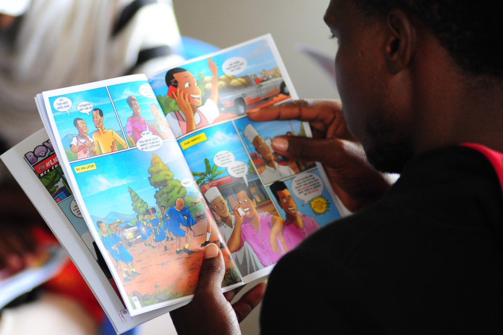 Empowering youth for social change through the Shujaaz multimedia platform in Kenya.