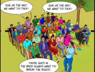 """Mic Yetu"": Reshaping the discourse on governance, participation and transparency among Kenyan  youth"