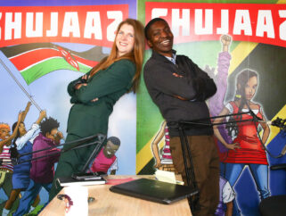Over 3000 Shujaaz Fans join the British High Commissioner in our biggest live chat yet to mark International Youth Day